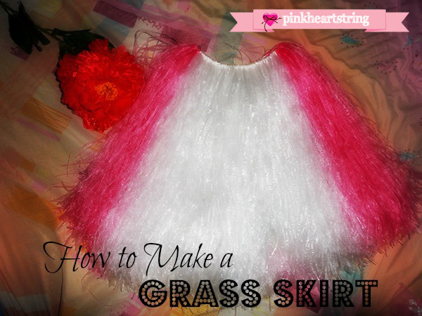 how to make a grass skirt