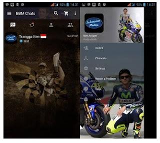 BBM Mod Valentino Rossi