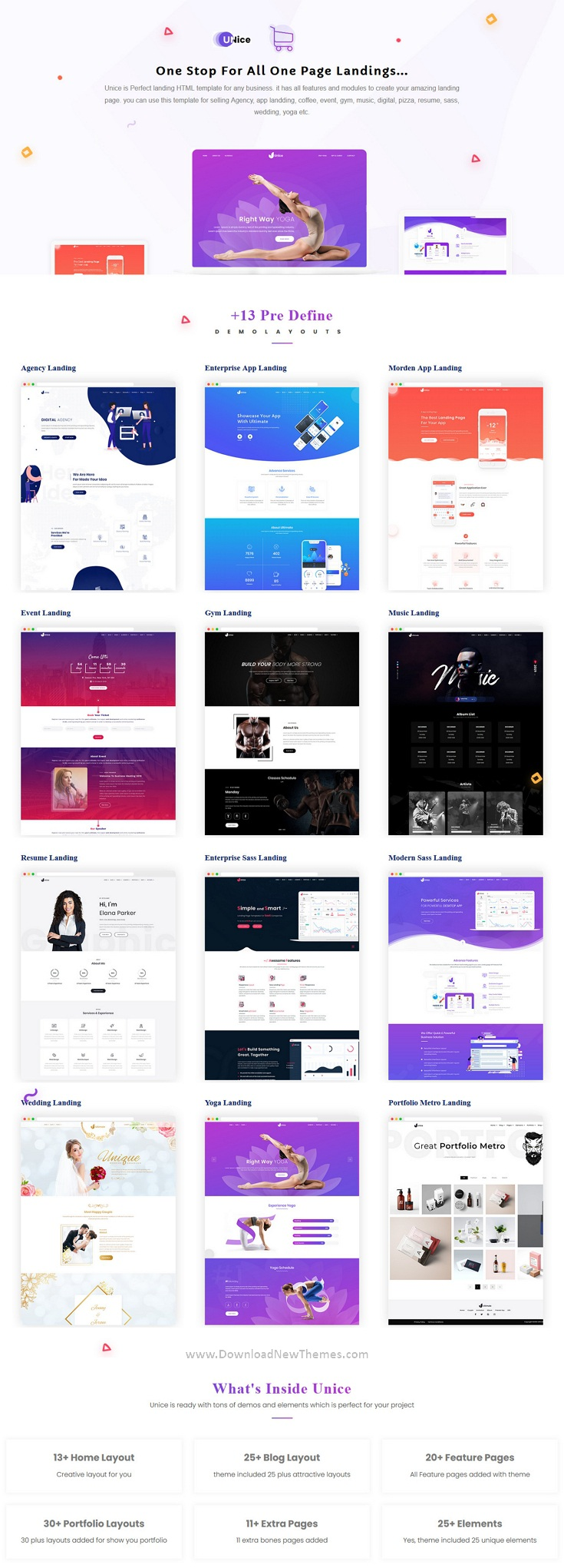 Best Multipurpose Landing Page Templates