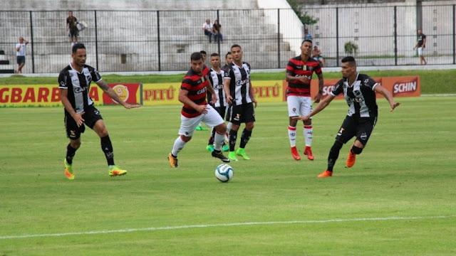 Vitória sofre primeira derrota da temporada diante do ABC, pela Copa do Nordeste