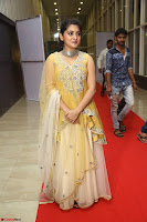 Nivetha Thamos in bright yellow dress at Ninnu Kori pre release function ~  Exclusive (48).JPG