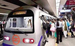 delhi-metro-violet-line-affected