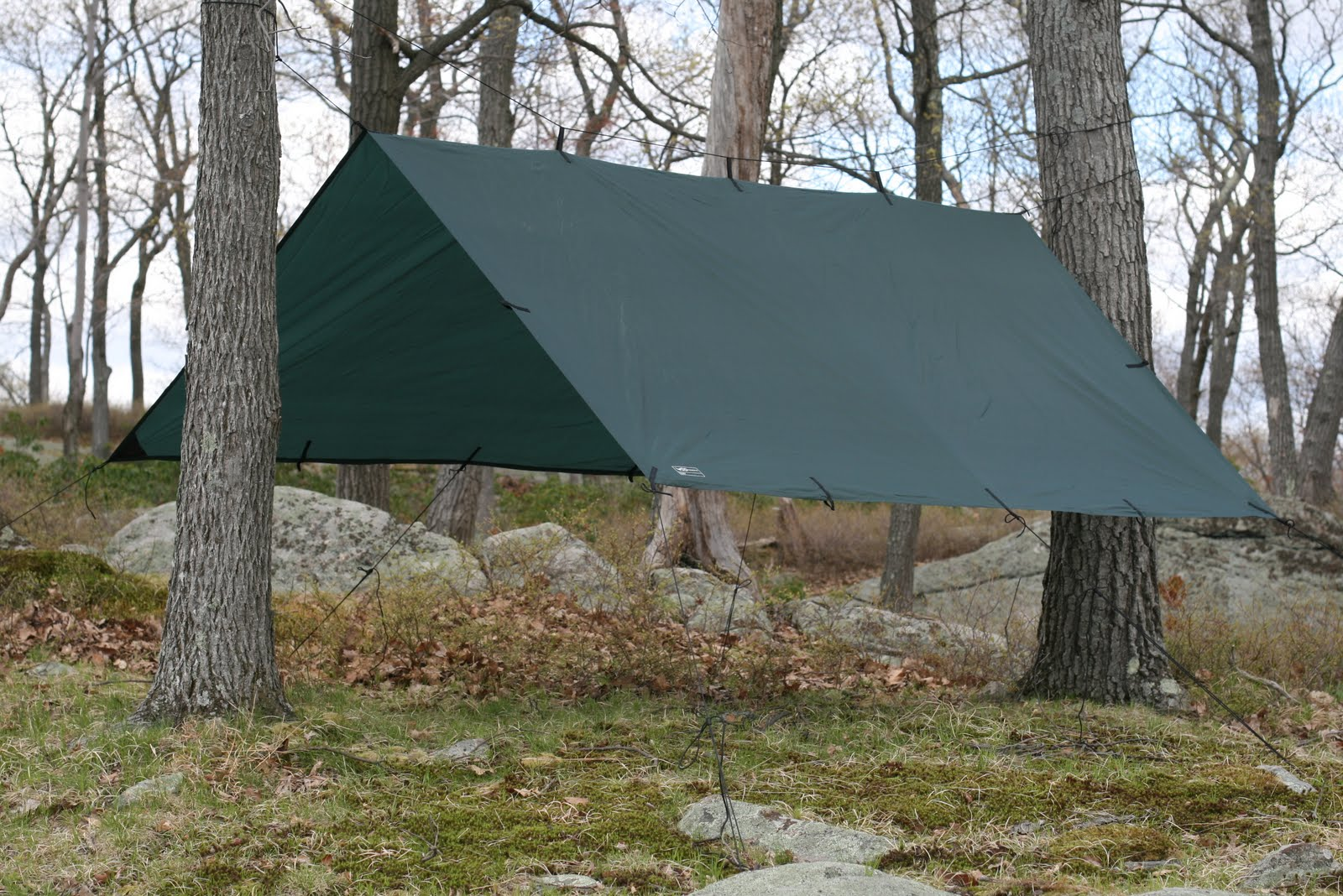 Wood Trekker & Wood Trekker: Basic Tarp Configurations