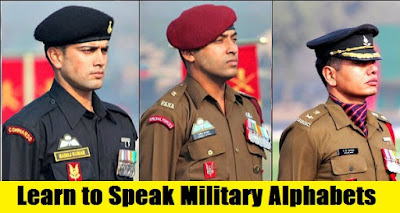 Learn to Speak Military Alphabets Codes
