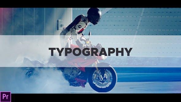 Videohive - Typography Intro - 21903978