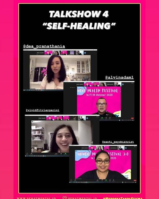 vivid f argarini mental health festival 2020 self healing
