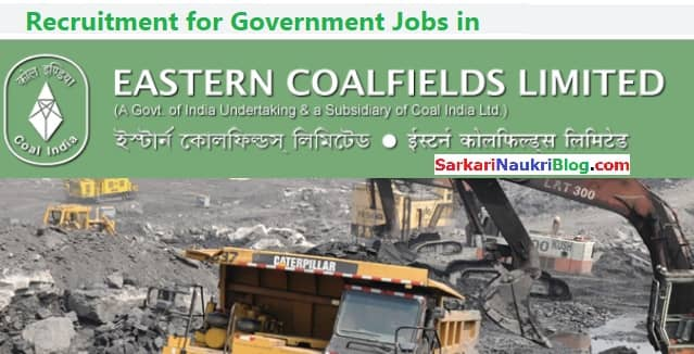 Eastern Coalfields Government Jobs