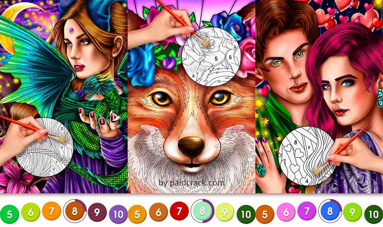 Color By Number For Adults Premium Mod Apk 3.9.10