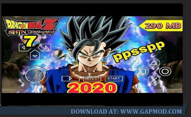 Dragon Ball Z Shin Budokai 7 PPSSPP Download