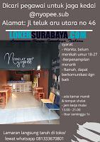 Loker Surabaya Terbaru di Cokelat Kopi Yopee Nopember 2019
