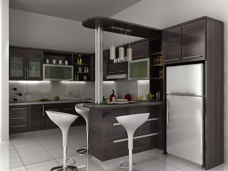 Desain Interior Dapur Dan Ruang Makan