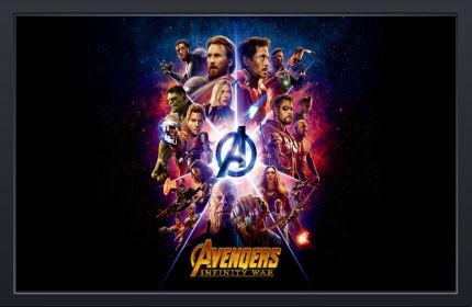 Avengers Infinity War Titre - Fond d'Écran en HD