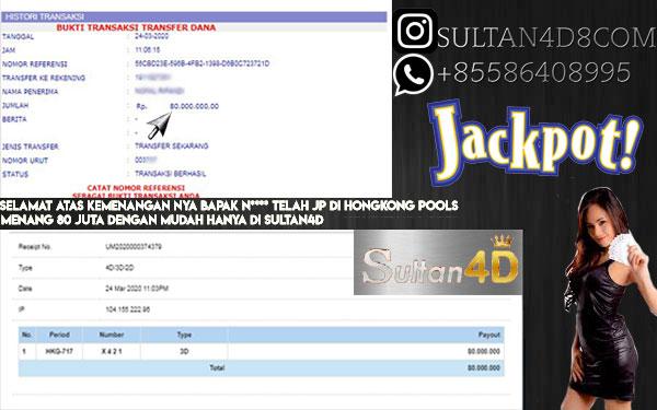 MODAL 200 RIBU BISA JADI 80 JUTA HANYA DI SULTAN4D
