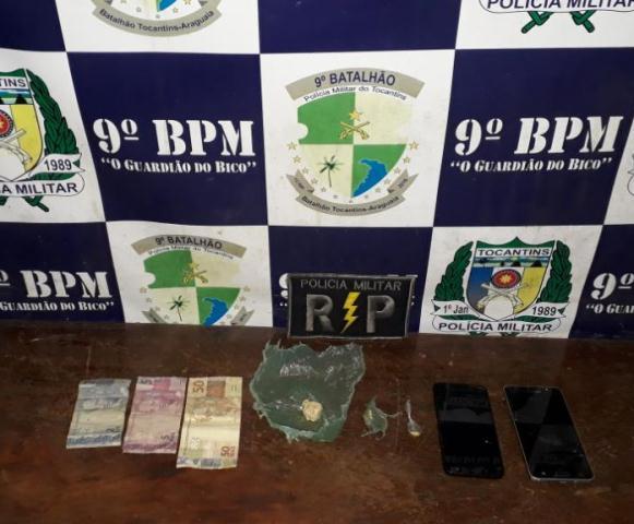 Ação conjunta das Polícias Militar e Civil desarticula tráfico de drogas em Augustinópolis