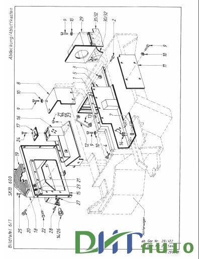 PARTS CATALOGES- Terex Schaeff Skb 600-El-0400 Parts