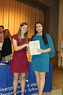Montgomery Catholic Hosts National Honor Society Induction Ceremony 1