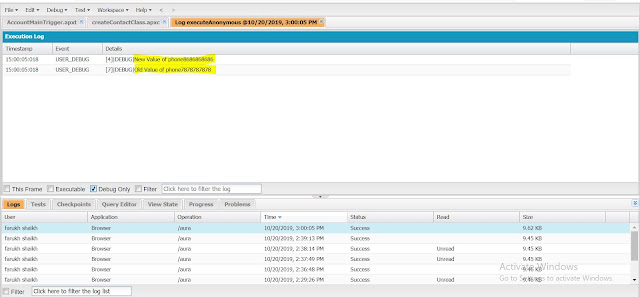 what is trigger.old and trigger.new in salesforce