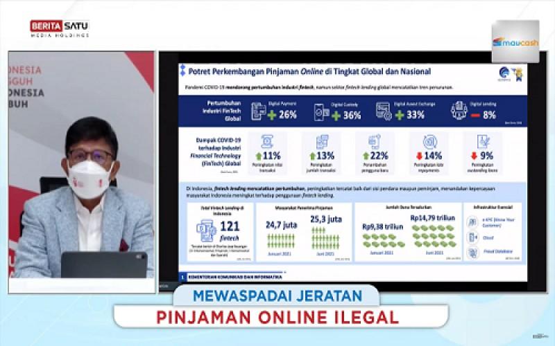 Lindungi Masyarakat dari Pinjol Ilegal, Menteri Johnny: Kominfo Putus Akses dan Edukasi Literasi Digital