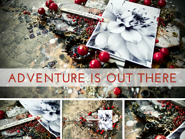 Adventure Is Out There Layout + Tutorial