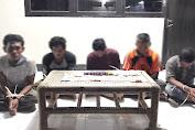 Bermain Judi Qiu-Qiu, 5 Lelaki Ditangkap Tim Ops Pekat Polres Lotim