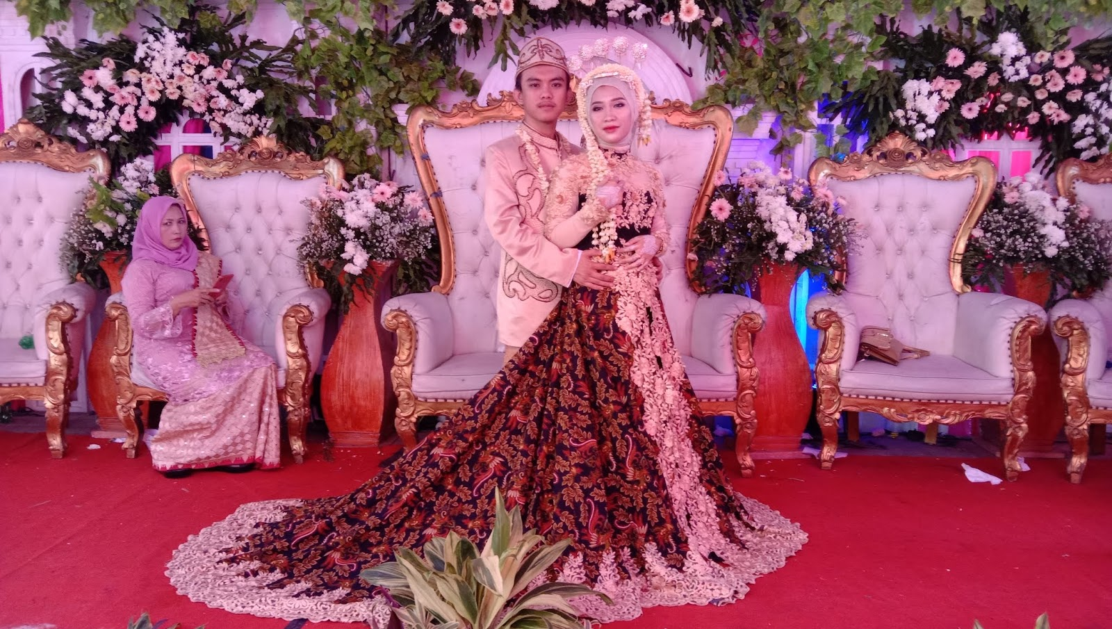 Pernikahan Ahmand Ibrahim dan Amelia