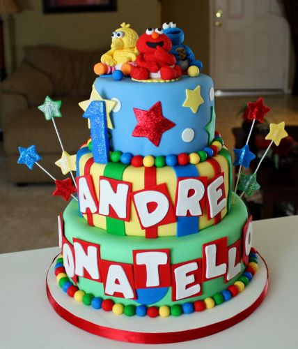 Cakes By Dusty Baby Sesame Street Cake