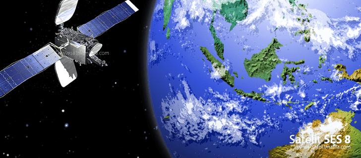 Inilah Daftar Frekuensi Dari Satelit SES 8