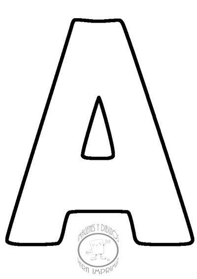 Moldes de letras para imprimir y recortar grandes | Imagenes y ...