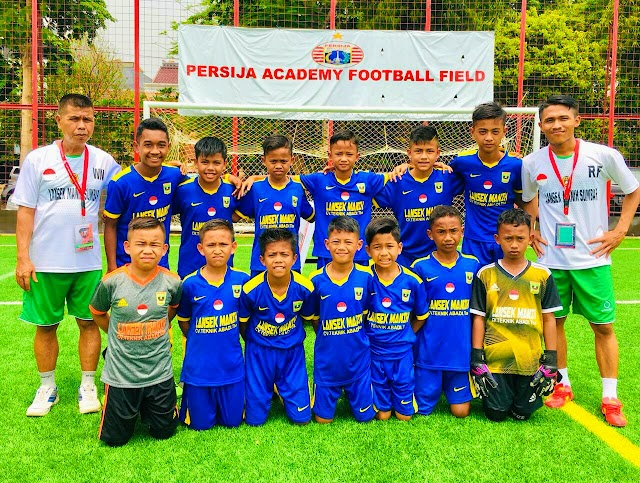 Klub Sepak Bola U-12 Lansek Manih Sijunjung Terus Berbenah Agar Meraih Prestasi Gembilang