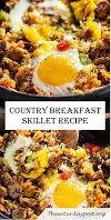 COUNTRY BREAKFAST SKILLET RECIPE