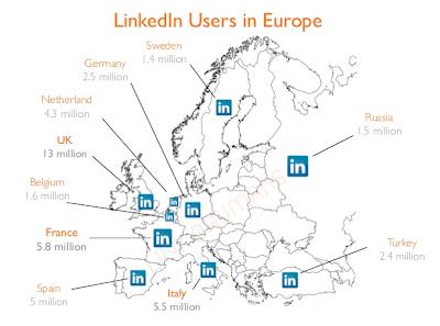 LinkedIn raggiunge i 5,5 milioni di utenti in Italia: siamo il 6 paese per numero i iscritti