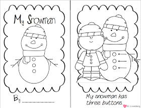 Happy Little Kindergarten: Chillin' Winter Math and