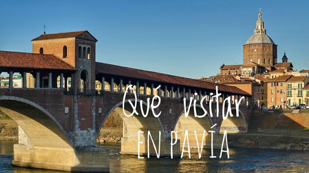 Qué visitar en Pavía