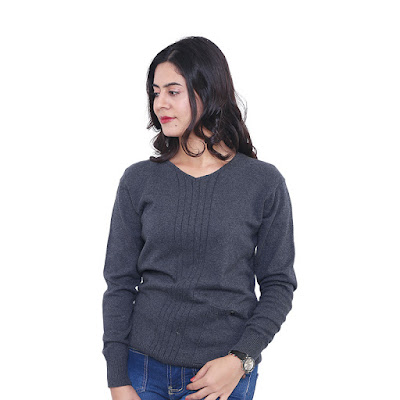 Sweater Rajut Wanita Catenzo ZM 112