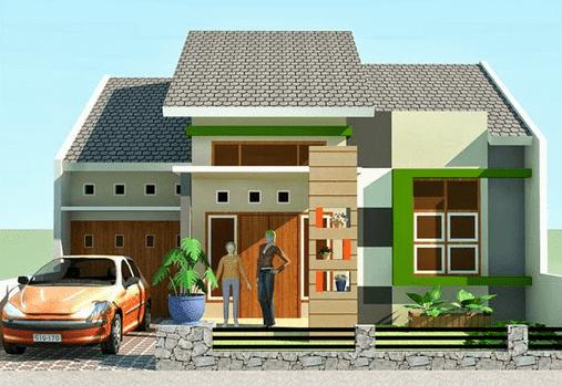 60 Contoh Desain Rumah Minimalis Type 36 Terbaru 2020
