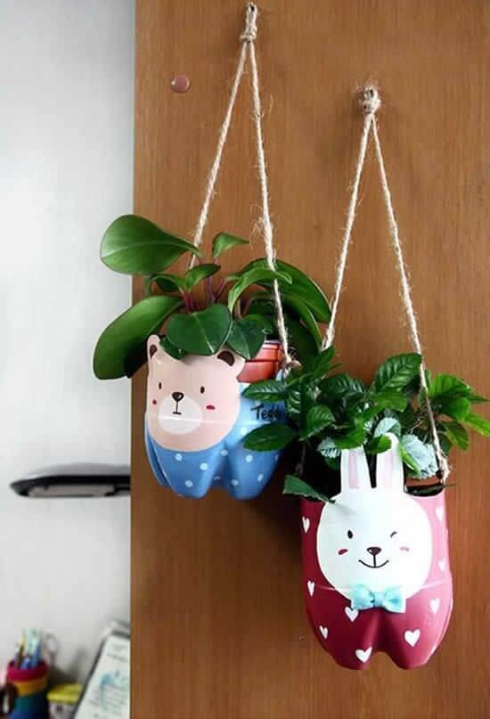 Easy crafts with pet bottle