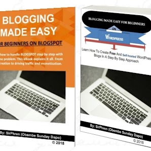 Blogging Ebook: Download Free Blogging Made Easy For Beginners On Blogspot And WordPress