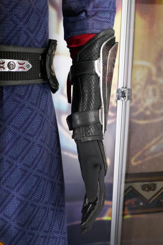 Death Dealer costume forearm guard Shang-Chi