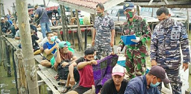27 TKI ILegal Di Perairan Asahan Sumut Kembali Diamankan