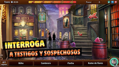 Videojuego Criminal Case - Mysteries of the Past