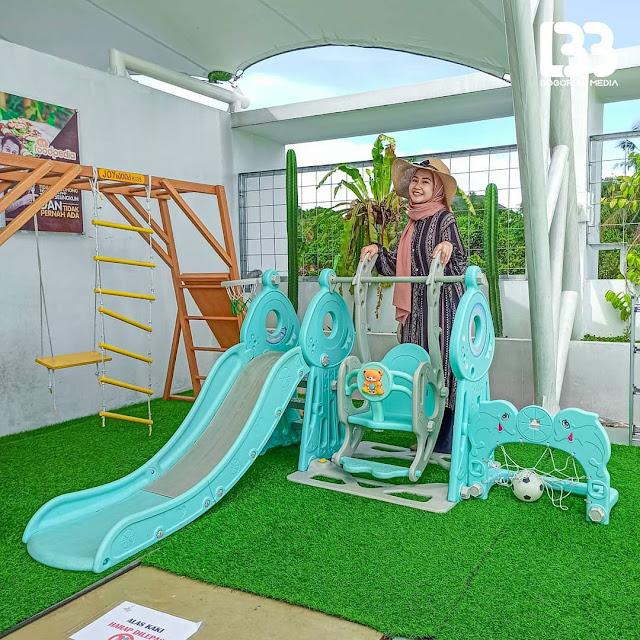 Playground di Foodpedia Sentul Bogor
