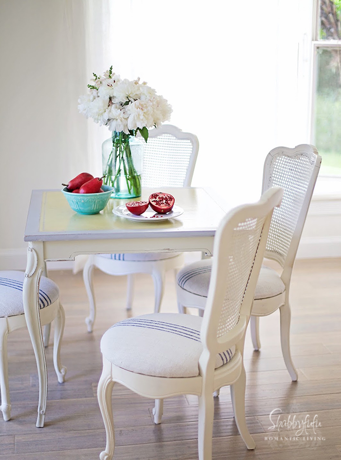 New french country furniture dining room