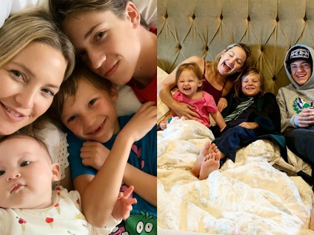 US Actress Kate Hudson reveals on having 3 children with 3 different Men