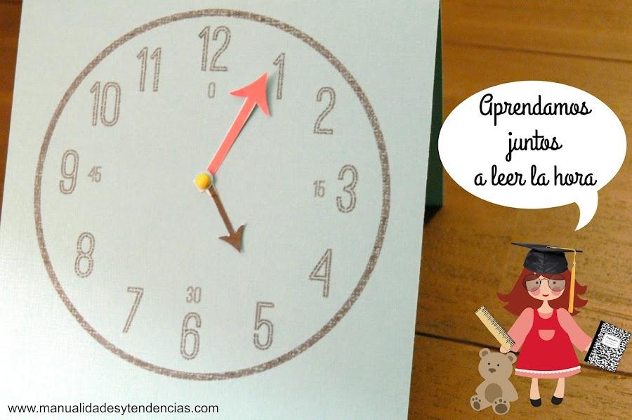 Cómo hacer un reloj para aprender a leer la hora