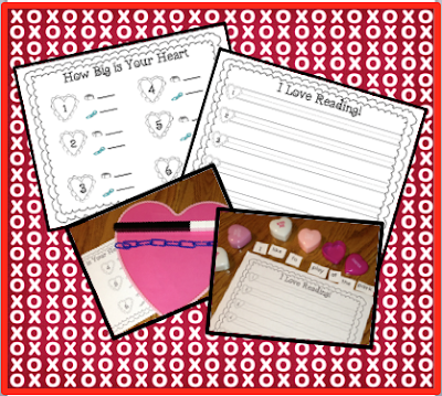 Valentines Measurement Activity Freebie