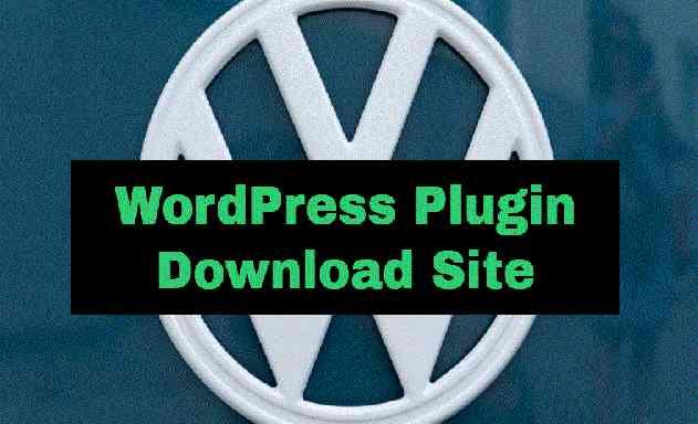 WordPress Plugin Download Site