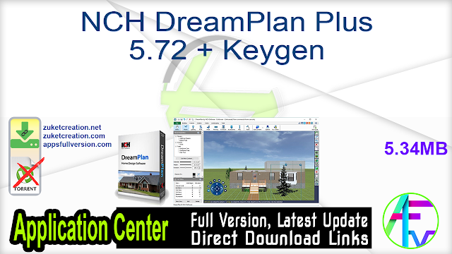 NCH DreamPlan Plus 5.72 + Keygen