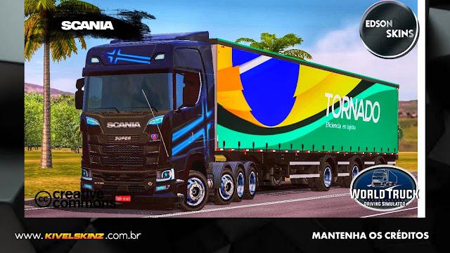SCANIA S730 - TORNADO TRANSPORTES