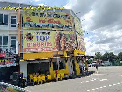 Restoran Top D' Gurun di Kepala Batas