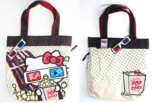 Hello Kitty Classic Red Tote Bag